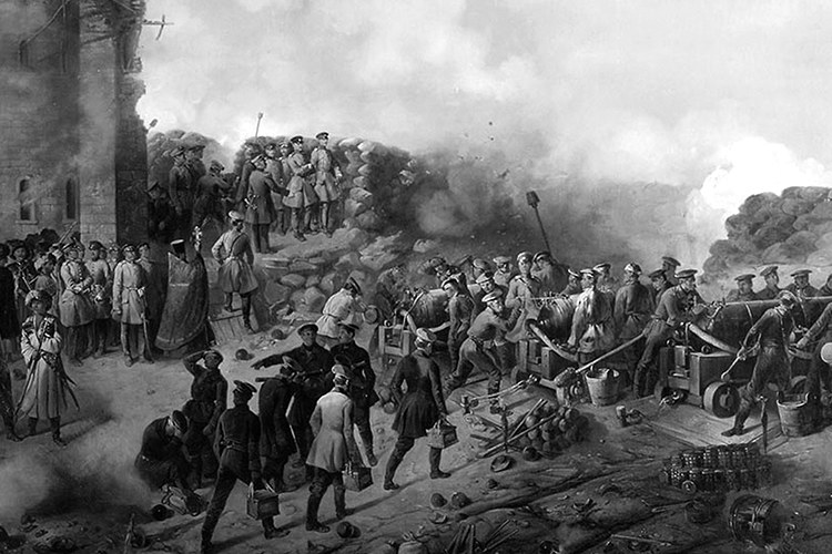 8 septembre 1855 – capitulation of the Sevastopol Fortress effectively putting an end to the Crimean War